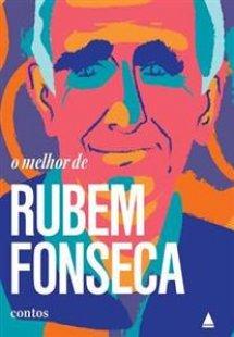 """Rubem Fonseca, no desenho da capa do livro """"O melhor de Rubem Fonseca"""", publicado com o selo Nova Fronteira, da Ediouro Publicações. [1]"""
