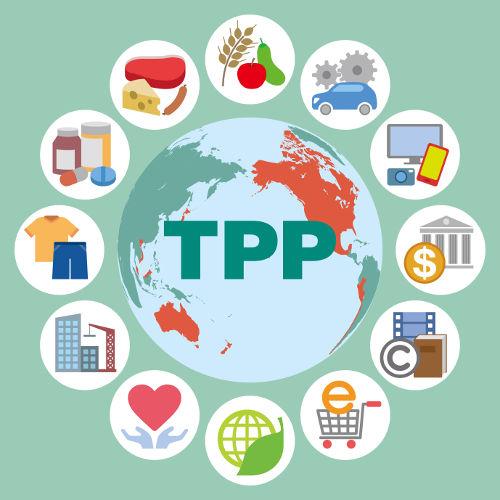 O TPP é um acordo de livre-comércio entre doze países do Pacífico que pretende favorecer a integração econômica entre os seus países-membros