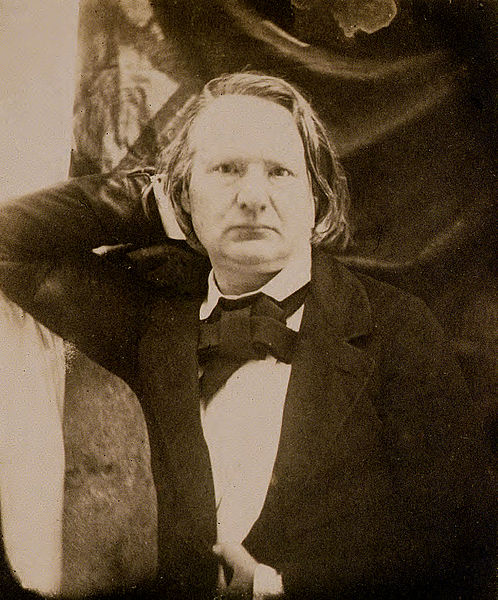 Victor Hugo, em 1853.