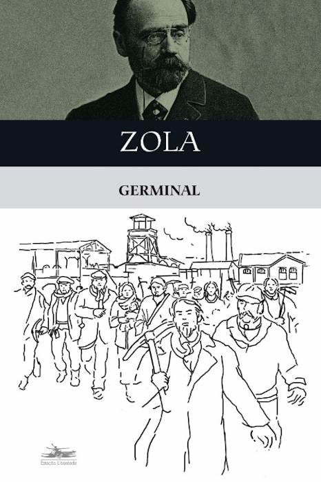 Capa do livro Germinal, de Émile Zola, publicado pela editora Estação Liberdade. [1]