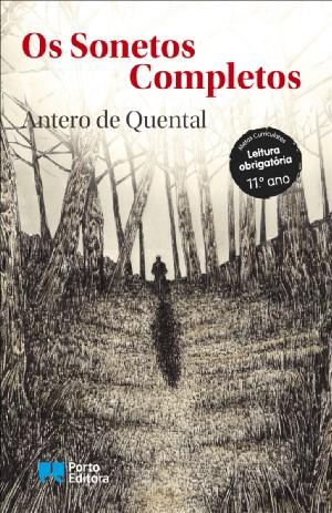 """Capa do livro """"Os sonetos completos"""", de Antero de Quental, publicado pela Porto Editora. [1]"""