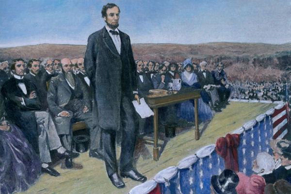 Lincoln liderou os Estados Unidos durante os anos da Guerra Civil Americana.