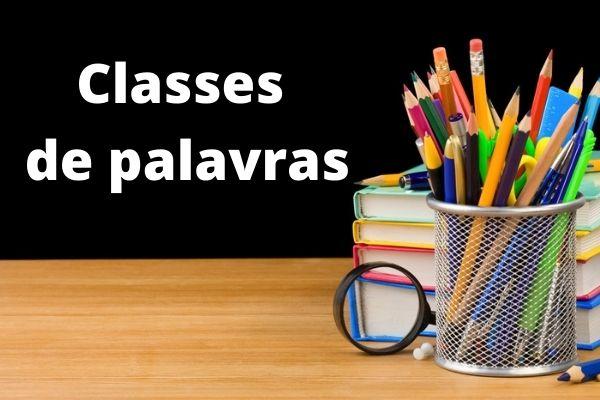 As classes de palavras, também chamadas de classes gramaticais, consistem em uma categorização que leva em conta as funções morfológicas dos vocábulos.