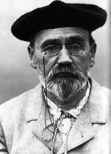 Émile Zola, em 1902.