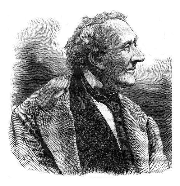 "Hans Christian Andersen é autor de contos famosos, como ""O patinho feio"" e ""A pequena sereia""."