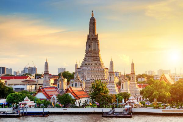 Bangkok, capital da Tailândia, é a cidade que mais recebeu turistas no mundo em 2019.