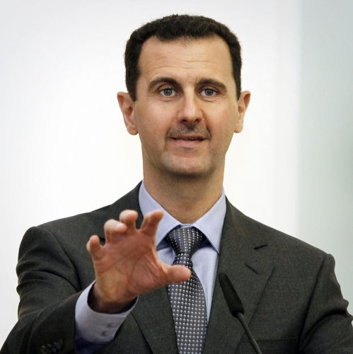 Em 2011, o governo de Bashar al-Assad enfrentou protestos no que ficou conhecido como Primavera Árabe.[1]