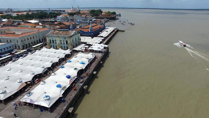 A cidade de Belém é a capital e mais importante cidade do Pará, sendo o centro político e econômico estadual.