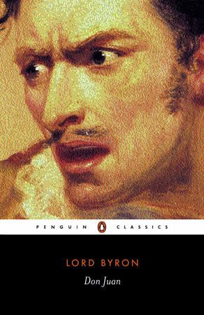 Capa do livro Don Juan, de Lord Byron, publicado pela Penguin Editora.[1]