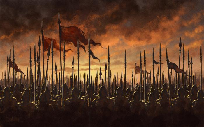 Os cavaleiros eram nobres que guerreavam durante a Idade Média.