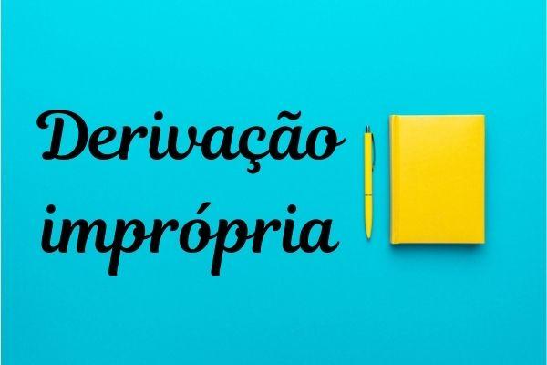 O processo de derivação imprópria permite mais de uma função ou sentido para uma mesma palavra.