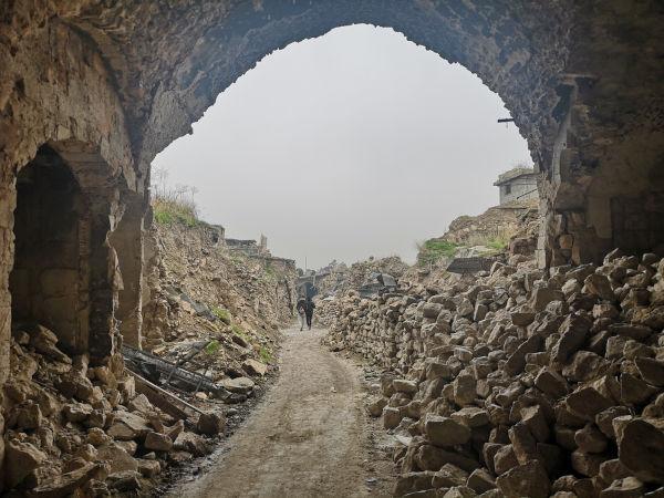 A Guerra Civil Síria foi responsável pela destruição das grandes cidades sírias.