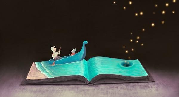O livro infantil é um espaço que possibilita a seu leitor navegar por mundos inimagináveis.