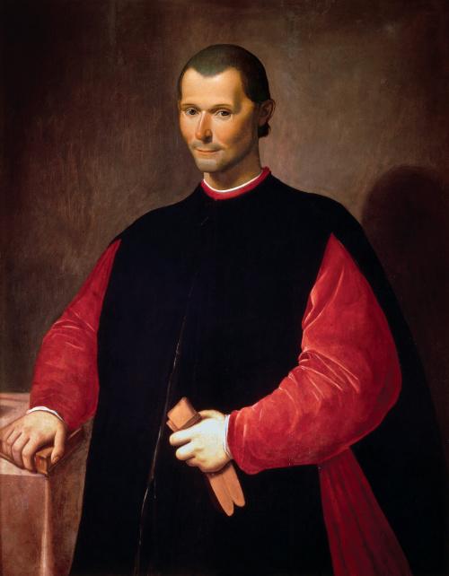 Nicolau Maquiavel é um grande nome da teoria política.