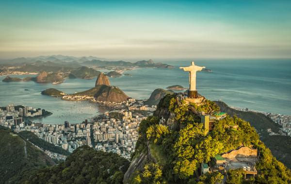 O Rio de Janeiro é o principal destino dos turistas internacionais no Brasil.
