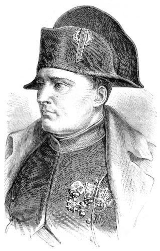 Napoleão Bonaparte nasceu em Ajaccio, em 1769, e era de uma família descendente da pequena nobreza italiana.