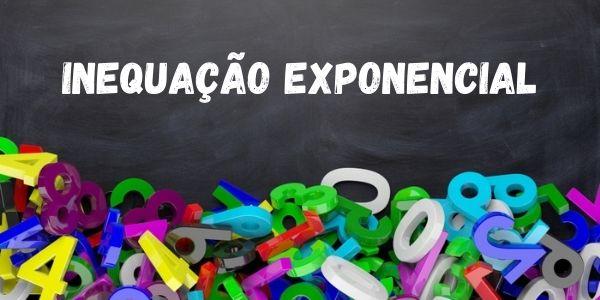 Inequação exponencial é uma sentença matemática em que encontramos uma incógnita no expoente e uma desigualdade.