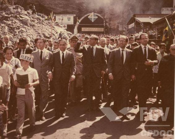 Carlos Lacerda esteve à frente do governo da Guanabara de 1960 a 1965.