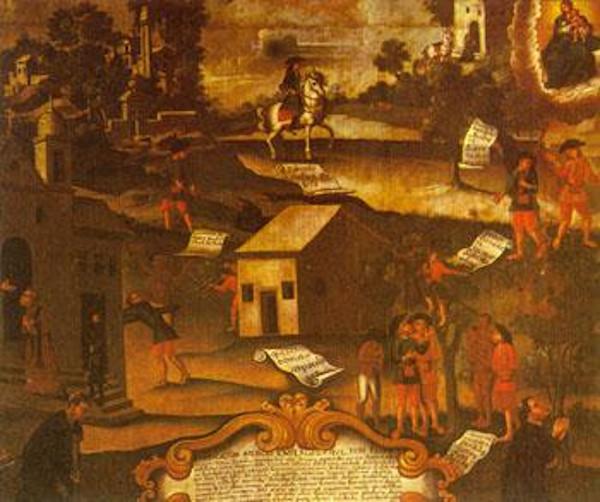 A Guerra dos Emboabas foi um conflito entre paulistas e estrangeiros pela disputa das minas de ouro.
