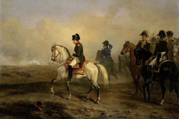 Napoleão Bonaparte ficou conhecido por ser um grande estrategista militar.