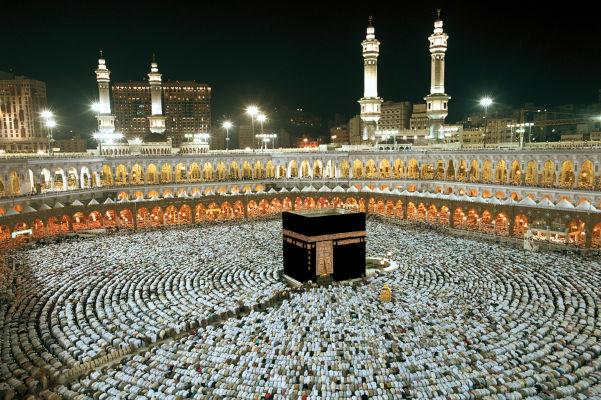 Muhammad nasceu em Meca, atualmente uma das cidades sagradas do islamismo.