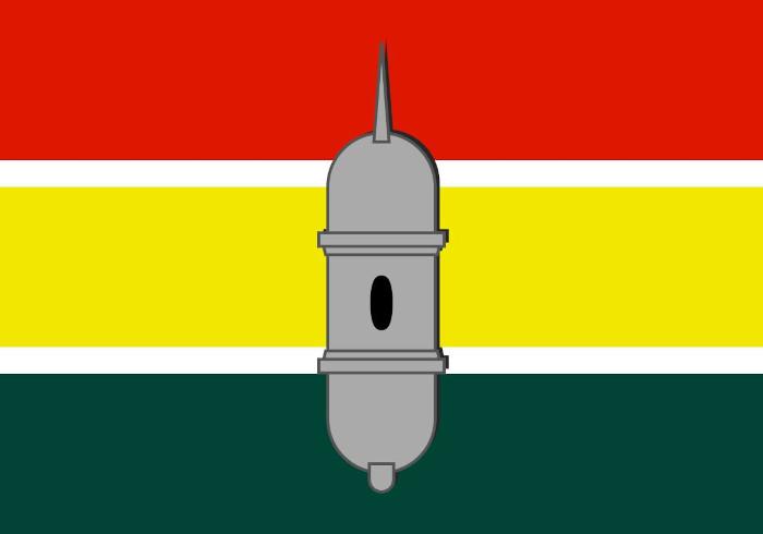 Bandeira da cidade de Macapá