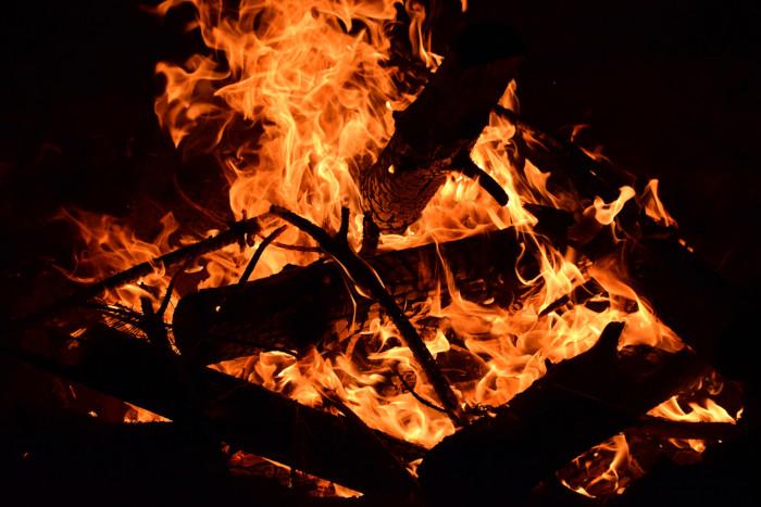 A fogueira é o principal símbolo do Dia de São João.
