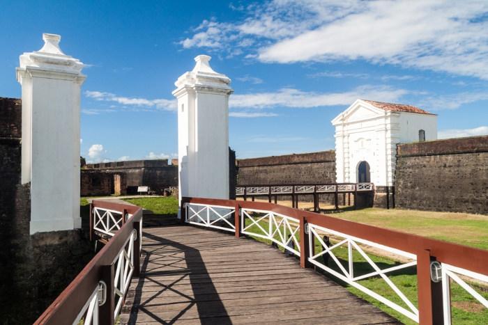 Vista da Fortaleza de São José de Macapá