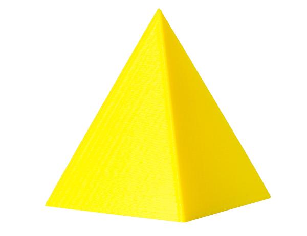 A pirâmide é um sólido geométrico que pode apresentar diferentes formas de base.