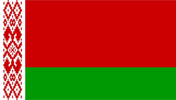 Bandeira de Belarus.