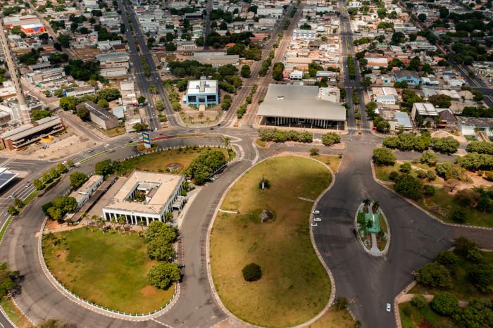 Vista aérea de Boa Vista.