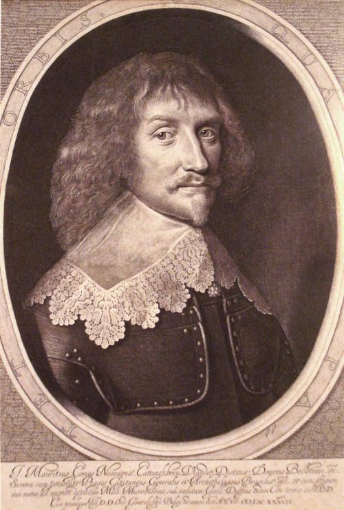 Imagem de Maurício de Nassau.