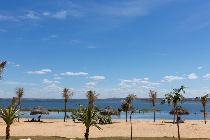Foto da praia da Graciosa em Palmas.