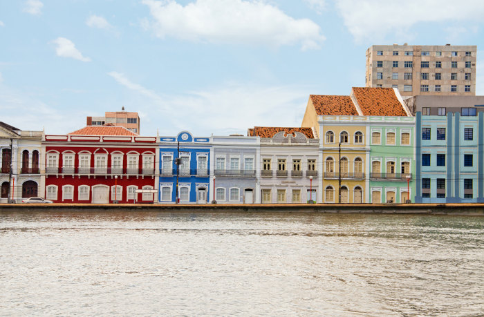 Vista da Rua Aurora, em Recife, Pernambuco.