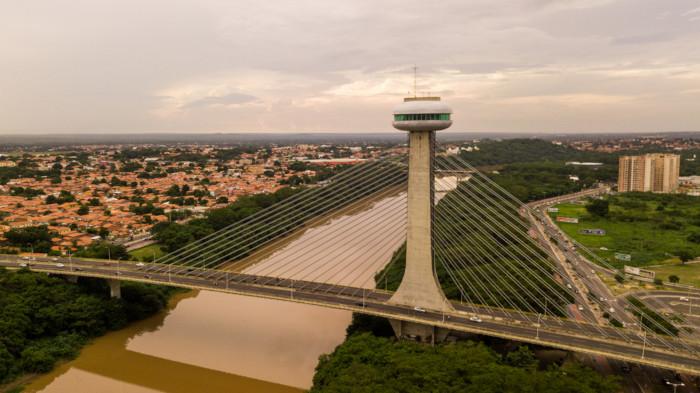 Vista aérea da cidade de Teresina