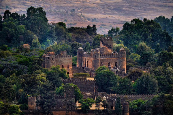 Castelo na Etiópia
