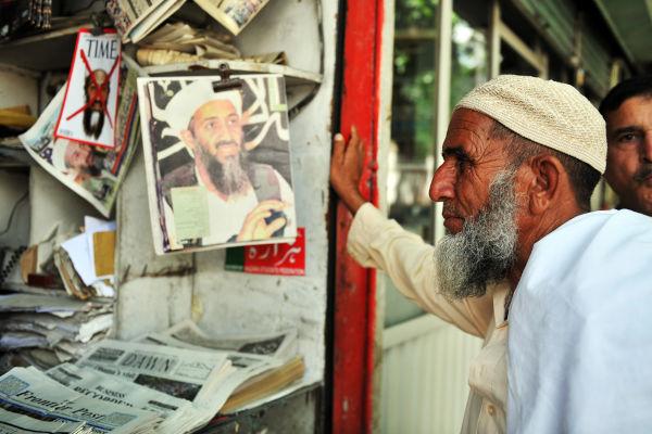 Osama bin Laden foi um dos fundadores da Al-Qaeda na década de 1980. Foi morto por soldados norte-americanos em 2011.[1]