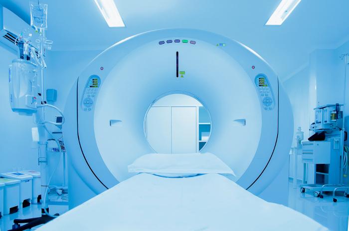 Equipamento de ressonância magnética