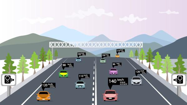 Velocidade média é a variação da posição de um móvel em relação a um referencial durante certo intervalo de tempo.