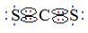 Fórmula eletrônica do CS2