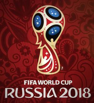 Emblema do Mundial traz as cores que representam a Rússia