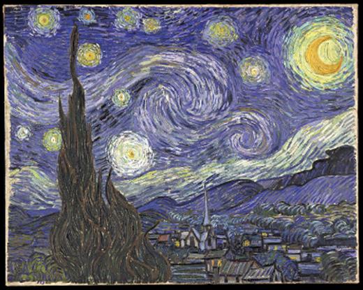 A Noite Estrelada é uma das mais conhecidas pinturas do artista holandês Vincent van Gogh. Encontra-se no Museu de Arte Moderna de Nova York