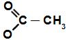 Fórmula estrutural do aldeído acetato