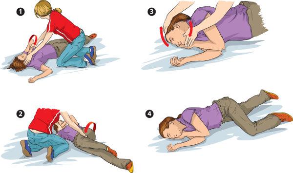 Ajuda em caso de convulsão