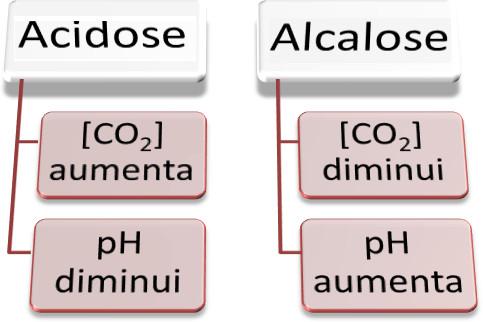 Características da alcalose e acidose