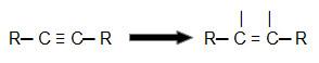 Representação da quebra de uma pi de um alcino