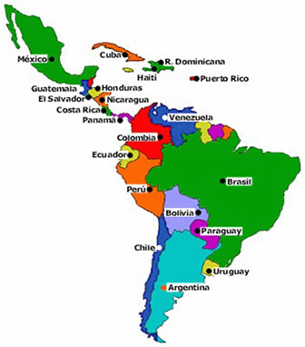 Países latino-americanos
