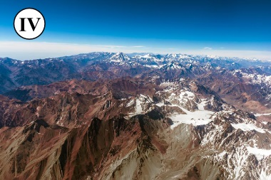 Área da Cordilheira dos Andes, Chile