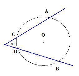 a801cbc32b Ângulo com vértice exterior à circunferência – Ângulo excêntrico externo.