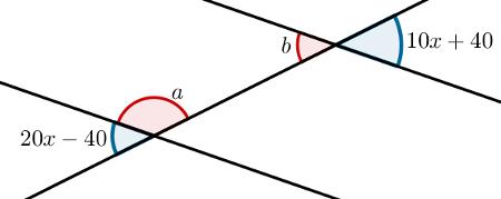 Ângulos alternos externos: Questão 2